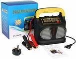 URAQT Caricabatterie e Mantenitore Auto 10A 12V/24