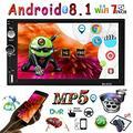 Autoradio Android 8 16GB 2Din con WiFi, BT e GPS