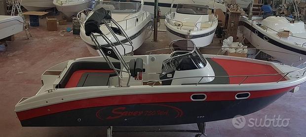 Barca SAVER 750 WA con HONDA 250 usata 2020
