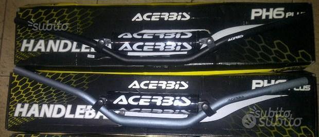 Manubrio cone-bar acerbis 28 con traversino silver