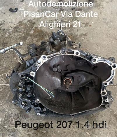 Cambio peugeot 207 1.4 hdi
