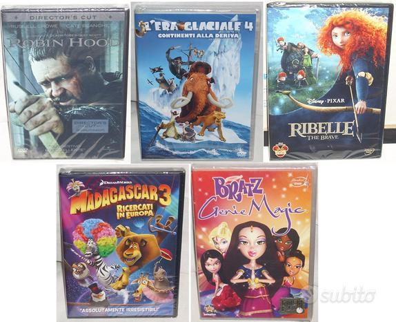 DVD FILM Madagascar EraGlaciale Ribelle Hood Bratz