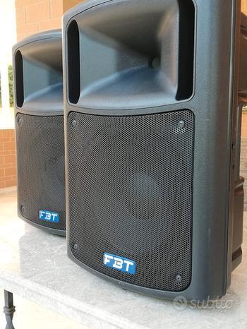 Coppia casse amplificate FBT da 450 Watt l'una
