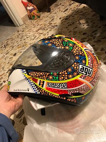 Casco moto nuovo Valentino Rossi Agv misura L