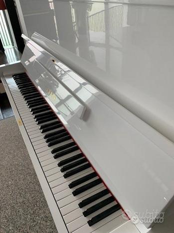 PIANOFORTE Yamaha U1 BIANCO SILENT