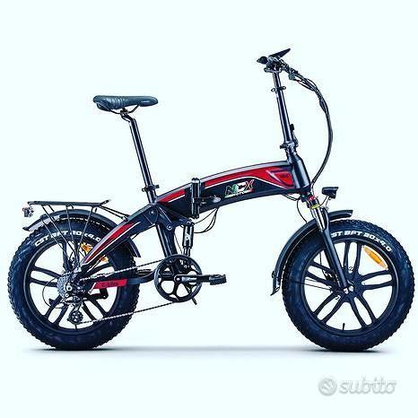 Fat bike pieghevole rd5 nuovo