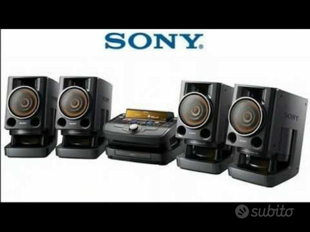 Stereo HOME TEATHRE SONY Base Consolle DJ+4 casse
