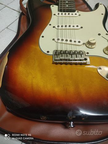 Stratocaster Fender, G&L, Squier vari modelli