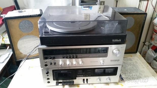 Impianto Hi Fi vintage anni 70