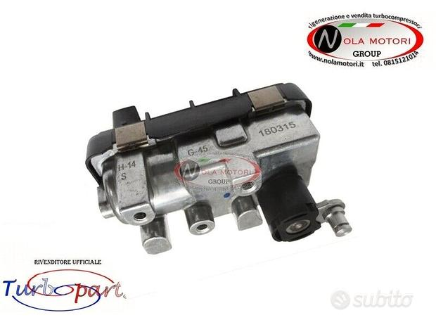 Attuatore elettrico per ford focus 1.8 tdci