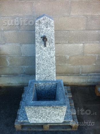 Fontane in pietra serizzo,beola,granito