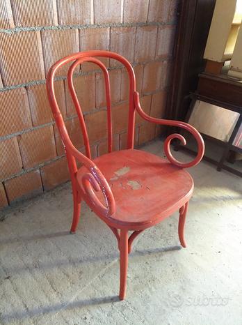 Sedia in legno vintage