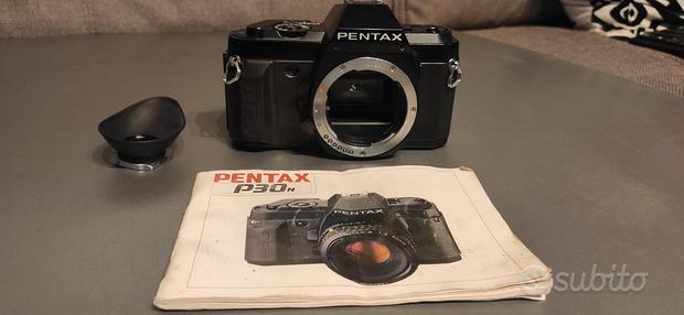 Pentax p30N+3 obbiettivi + borsa