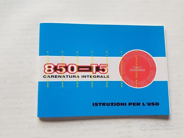Moto Guzzi 850 T5 Polizia Carabinieri 1998 manuale