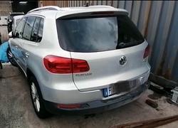 Volkswagen Tiguan incidentata/sinistrata