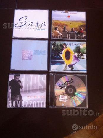 CD Promo Artisti Italiani Rari e da Collezione
