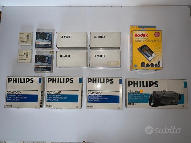 Lotto accessori per macchine fotografiche e video