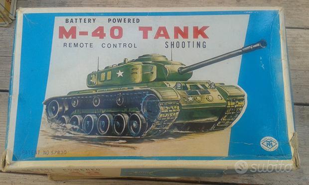 Carro armato m-40 tank shooting 3340.(molto raro)