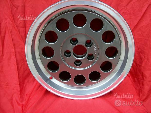 Cerchi Alfetta GTV6 e 75 7x15 5x98 diamantati