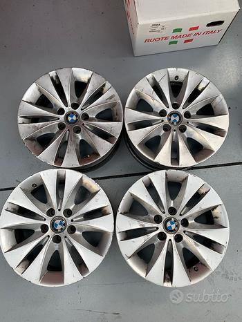 4 cerchi usati 17 pollici originali BMW Serie 5