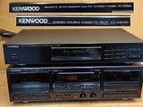 KENWOOD-- doppio Cassette deck + Tuner