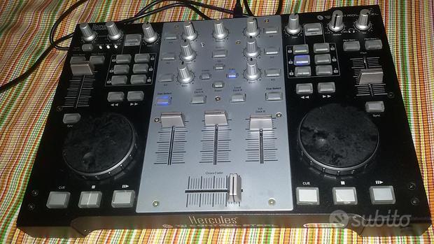 Consolle CONTROLL STELL- mp3 HERCULES VIRTUAL DJ