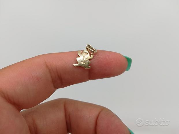Ciondolo Ranocchio 1 gr DoDo in Oro 18 kt