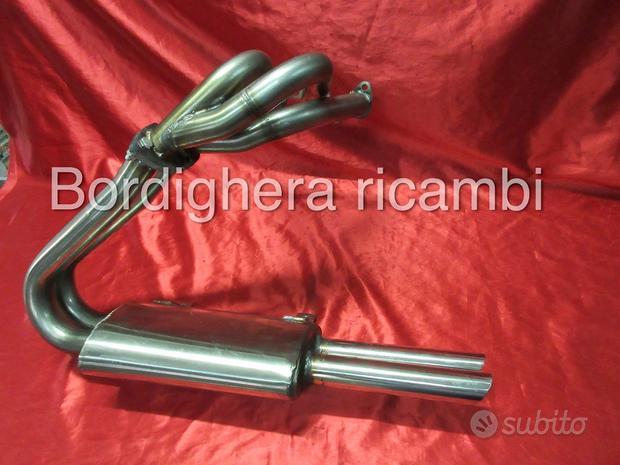 Fiat 600 850 1000 tc abarth scarico inox