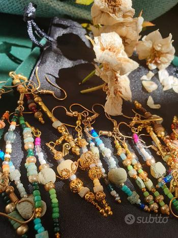 Orecchini perle fenicie