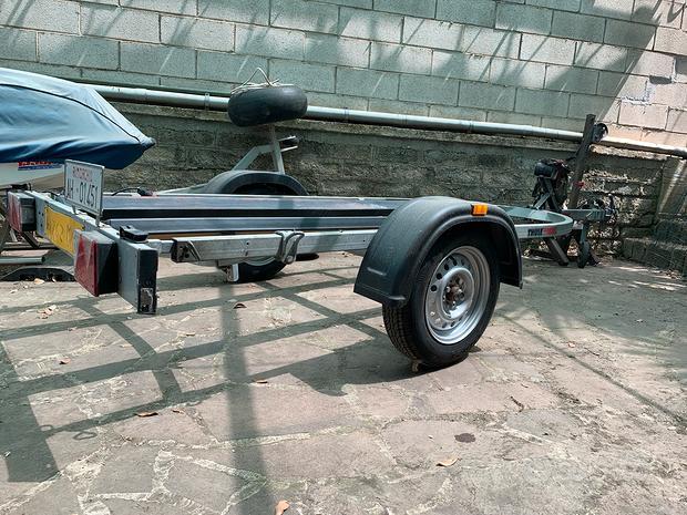 Carrello Ellebi moto d'acqua revisionato Pra