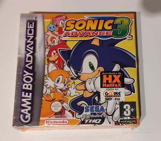 Sonic Advance 3 nuovo sigillato Gameboy Advance