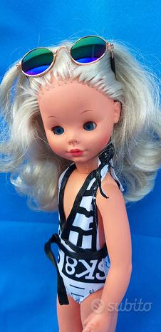 Bambola furga PAOLA alta moda MARE fashion vintage
