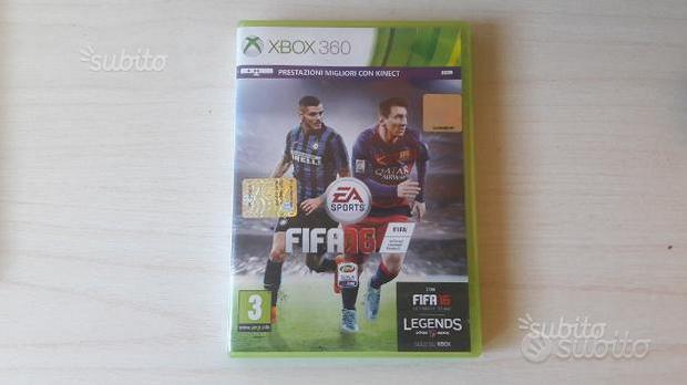 Videogiochi Fifa 16 e Fifa 14 per Xbox 360