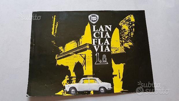 Lancia Flavia 1.8 1964 depliant originale brochure