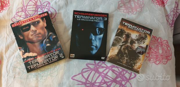 Dvd box terminator serie completa