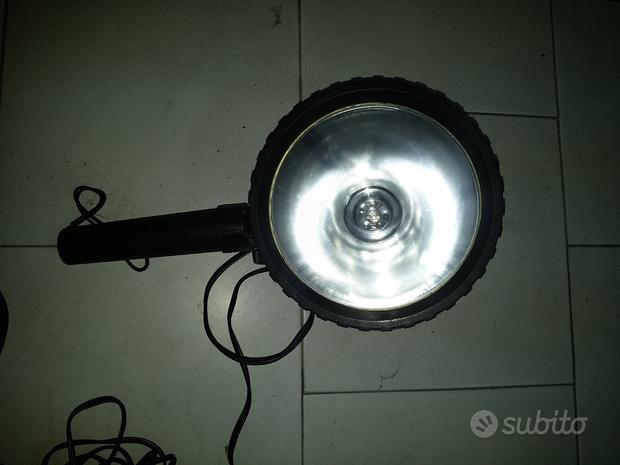 Lampada/faro 12 volt portatile