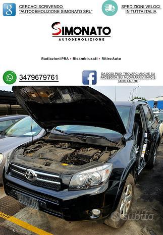 Ricambi toyota rav4 3^serie 2.2 diesel 2007 d-4d
