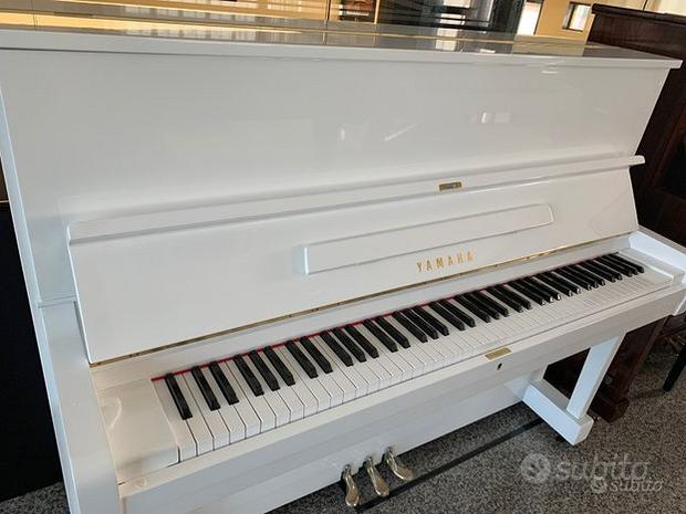 Yamaha U1 BIANCO SILENT- PIANOFORTE Yamaha U1