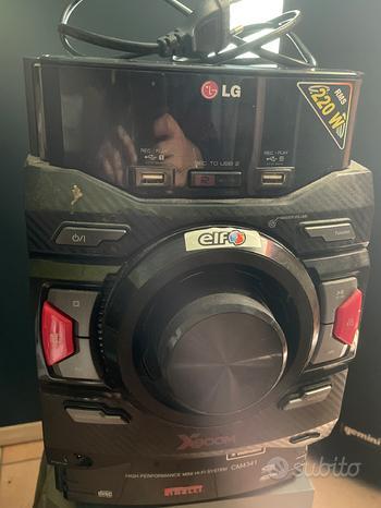 Amplificatore LG X-Boom 220 rms 4 canali