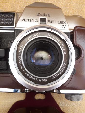 Macchina fotografica Kodak Retina Reflex III