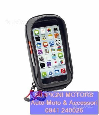 Givi s956b porta smartphone universale moto manubr