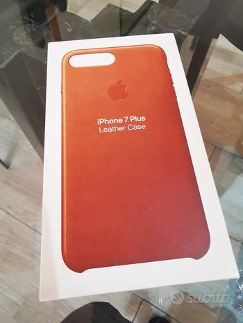 Case cover pelle iPhone