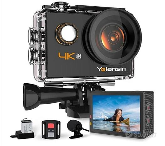 Action-cam YOLANSIN Nibler3, 4K,20MP,WiFi (NUOVA)