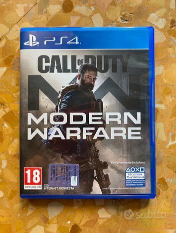 Cod mordern warfare ps4