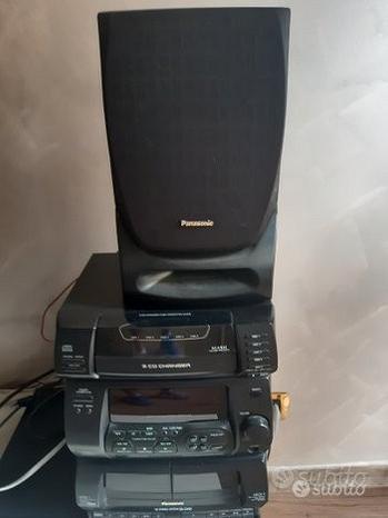 Stereo CD changer sistem hi-fi panasonic sa-ch34