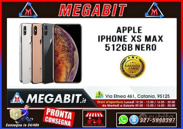 Apple Iphone XS MAX 512GB Nero con GARANZIA