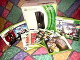 Consolle Xbox360 con 10 giochi inclusi