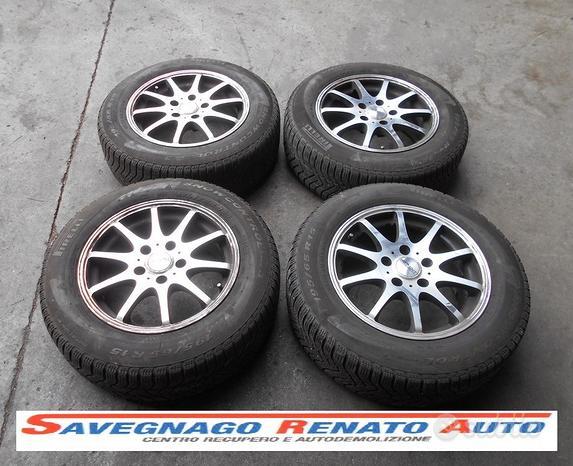 Cerchi in lega 15 pollici VW AUDI SEAT SKODA 5x112