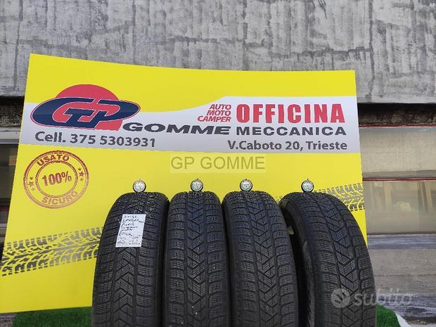 4 Pneumatici Pirelli invernali 215 65 17 al 69%