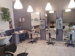 Negozio salone parrucchiera